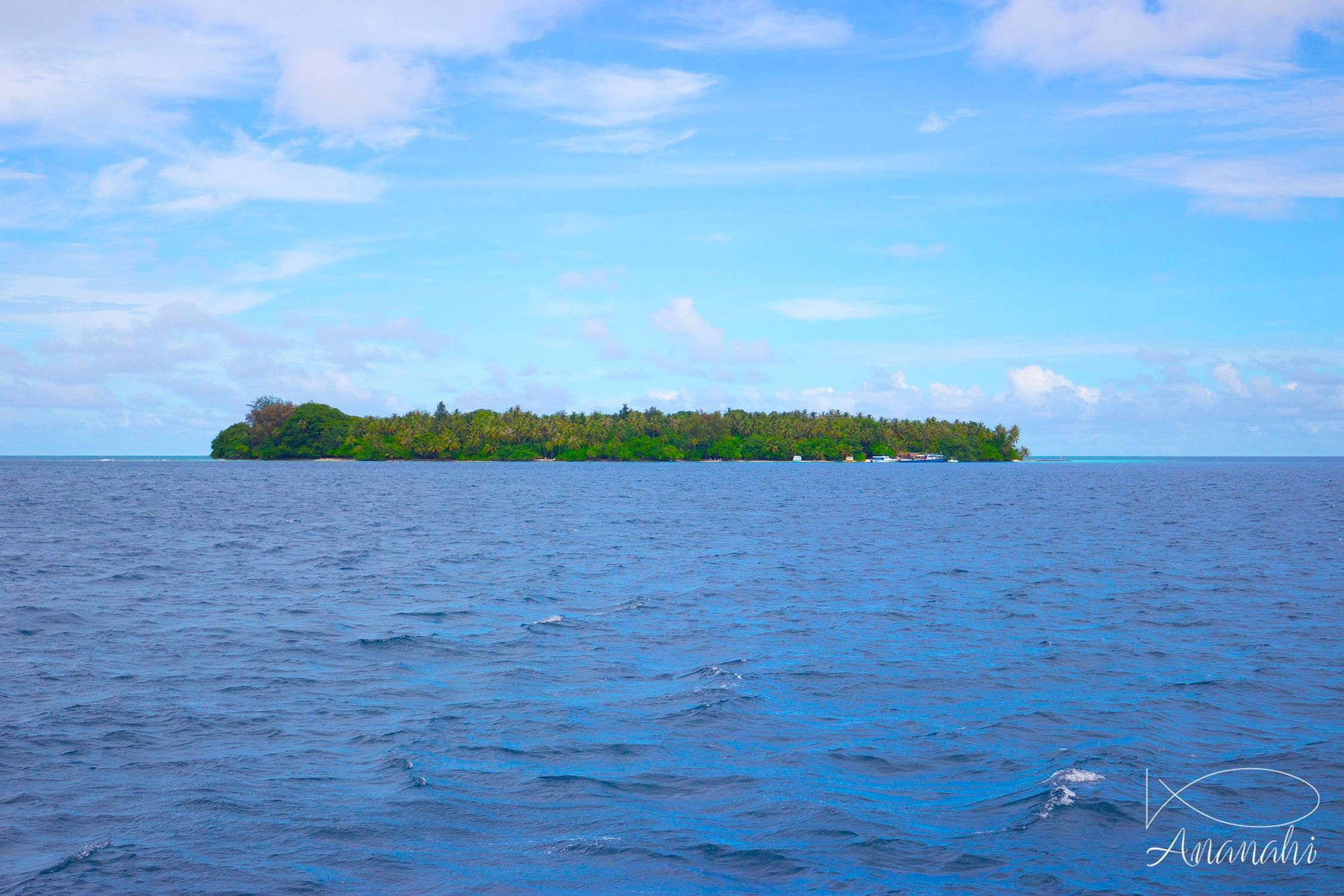 Biyadhoo island of Maldives